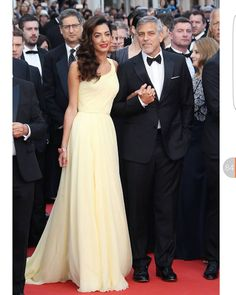 George Clooney and Amal Clooney at the annual Cannes Film Festival at Palais des Festivals in Cannes France.  Credit: Luca Teuchmann @BOLLYWOODREPORT  #cannes2016 #Celebstyle #celebfashion #celebritystyle #stylefile #bestoftheday #redcarpet #redcarpetfashion #paris #France #hairstyle #makeup #necklace #makeup #Stylefile #picofday #bestbody #fitnessfirst #poser #hollywood #cannesfilmfestival  @BOLLYWOODREPORT  . For more follow #BollywoodScope and visit http://bit.ly/1pb34Kz