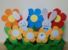:) Preschool Art Activities, Easter Activities, Spring Activities, Easter Crafts For Kids, Easter Ideas, Diy And Crafts, Arts And Crafts, Paper Crafts, Rabbit Art