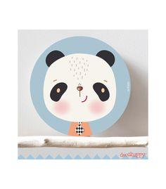 Cuadro infantil panda