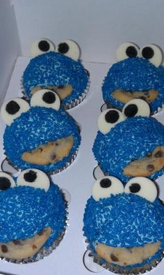 for a Cookie Monster themed birthday party by brendaq