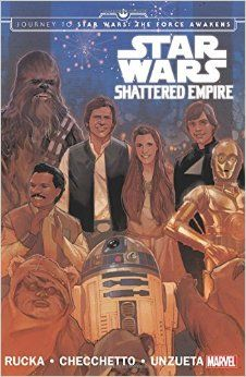 Take a ride past the destruction of the second Death Star - and into the chaos of a Shattered Empire and events leading up to the Force Awakens!