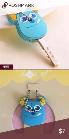 Sully key cover/cap/case Sully key cover/cap/case. One included only. Put the cap over your keys to help distinguish the different keys you have. Accessories Key & Card Holders