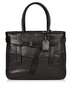 Cute day to night handbag. Black leather flap bag by REED KRAKOFF on secretsales.com