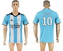 Marseille #10 Lass Sec Away Soccer Club Jersey