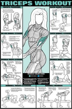 Who doesn't need some tricep workouts