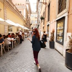 Walking through the streets of #Rome yesterday. Back to #work today. Ready for the #Lunch2014 show. More #food.... #diet next week.