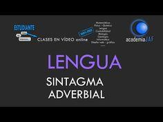 El Sintagma Adverbial - Análisis sintáctico Lengua Española sintaxis - academia JAF - YouTube