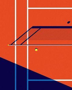 NICE, VERY INTERESTING SHOT! - Reposting @raketea: Tenis Art Déco 🎾 #app #tenis #tennis #raqueta #artdeco #sport #deporte #art #design