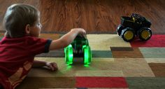 John Deer Monster Treads Lightnight Wheels Fun Time Play