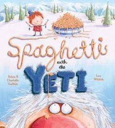 Such a cute new book! Spaghetti with the Yeti will be a new favorite!