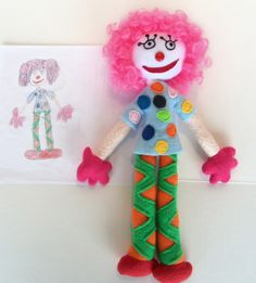 Have your child's drawing made into a Cuddly toy.