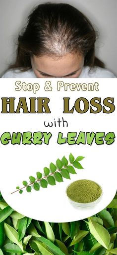 How to prevent hair loss with curry leaves