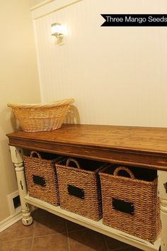 Three Mango Seeds: Laundry Room Folding Table
