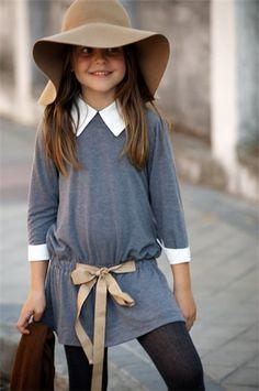 Floppy Hat & shirt dress