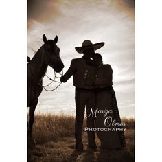 The love these two have is amazing. Los dos de charro. Had a blast with this photo shoot