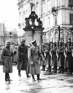 """Hitler reviews troops in Prague. """"A Look Inside Germany's First Conquest"""" by Jeff Nilsson. The Saturday Evening Post: WWII Blog"""