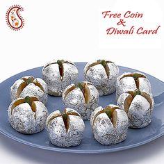 Stuffed Kajoo Anaar with Free Laxmi Ganesh Coin