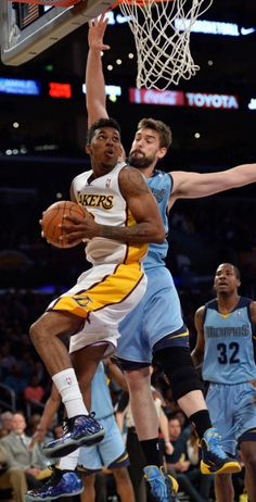 """Nick Swaggy P Young struck again, this time in the """"Galaxy"""" #Nike Air Foamposite."""