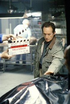 MIllenium. Lance Henrikson. behind the scenes