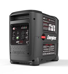 Energizer 2800 Watt Portable Gas Powered Inverter Generator with Electric Start RV Camping Generator, Solar Generator, Solar Panel Kits, Solar Panels For Home, Portable Inverter Generator, Landscape Arquitecture, Portable Solar Power, Solar Panel Installation, Landscaping Software