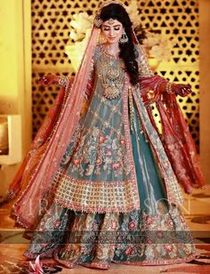 Asian Pakistani Latest Bridal Lehenga Collection 2020 40 Best Designs, styles and trends having bridal peplum, long shirt, choli, frock paired with lehengas Pakistani Bridal Lehenga, Latest Bridal Lehenga, Pakistani Wedding Outfits, Bridal Outfits, Pakistani Dresses, Pakistani Mehndi, Pakistani Couture, Party Outfits, Indian Dresses