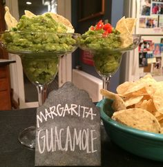 margarita guacamole.  guacamole infused with tequila.  why have i never thought of that before?!