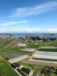 île de Batz vue du haut du phare, 29 mai 2013 | Finistère Bretagne