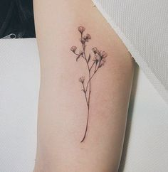 wild flowers tattoo                                                                                                                                                     More