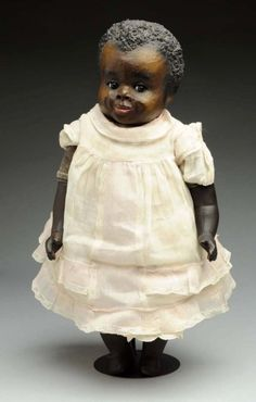 Rare Leo Moss Black Character Doll. : Lot 26
