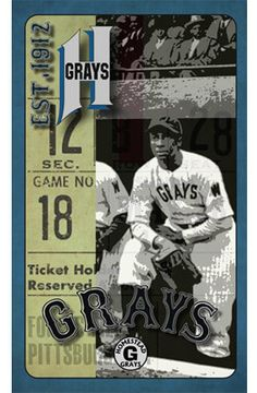 "Items similar to Pittsburgh/Washington Negro League Baseball Vintage Digital Art Print ""Homestead Grays on Etsy American Baseball League, Negro League Baseball, Baseball Art, Baseball Players, Baseball Tickets, The Sporting Life, Sports Figures, National League, African American History"