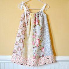 Fat Quarter Pillow Case Dress | AllFreeSewing.com