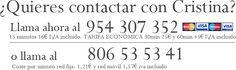 http://www.cartastarot-videncia.com/ Cristina-contacto-tarot-videncia