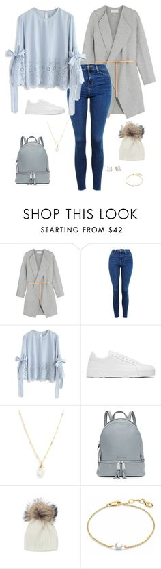 """save me (outfit 6)"" by kierstin518 on Polyvore featuring Vanessa Bruno, Topshop, Chicwish, Jil Sander, Lotus Jewelry Studio, MICHAEL Michael Kors, Inverni, Kate Spade and Missoma"