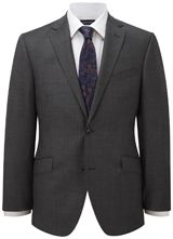 """Contemporary Fit Grey Sharkskin Jacket from """"Austin Reed"""", Purchase on discounted price using coupon codes and promotional codes."""