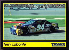1991 TRAKS TERRY LABONTE SUNOCO OLDSMOBILE #94 NMMT CONDITION FREE SHIPPING