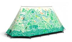 If you like your camping equipment crossed with serious creativity, then FieldCandy tents are for you. The UK company makesclassic A-frame camping tents that may just as easily stand as purely design pieces for those not inclined to actually venture into the woods.
