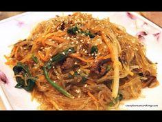 japchae http://crazykoreancooking.com/recipe/stir-fried-glass-noodles-japchae