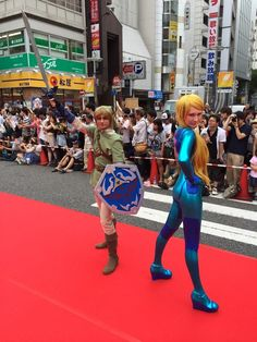 Team Russia at World Cosplay Summit in Nagoya | #Link #ZSS #WCS14 #RedCarpet