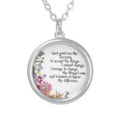 Serenity Prayer Jewelry