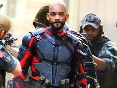 Star Tracks: Tuesday, May 5, 2015 | HARD BODIES | A bearded Will Smith (as Deadshot) is ready for battle on the set of Suicide Squad in Toronto on Monday.