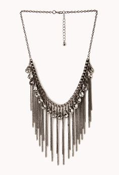 **LOVE LOVE! Would go perfect w/ my earrings!! Fringe Queen Bib Necklace | FOREVER21 - 1000066298  $7.80