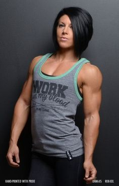 GRAY/MINT WORK IS IN MY BLOOD TANK #DLB #FNF #RobBailey