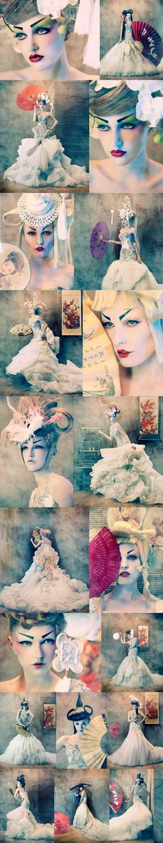 To Dream of Japan: fashion photography by Tina Patni for Amato Haute Couture www.amatohautecouture.com