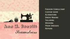 Fashion stylist business card fashion stylist tips pinterest feminine pink handmade vintage fashion sewing business cards http zazzle reheart Gallery