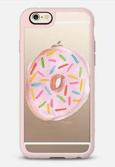 I HEART DONUTS  - New Standard Case in Pink Gray and Clear by @kristygoode   @casetify