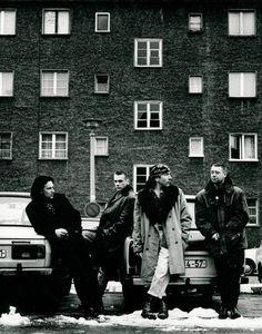 U2, Berlin 1991, by Anton Corbijn #AntonCorbijn #photography