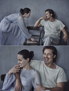 –George Eliot www. Angelina And Brad Pitt, Angelina Jolie Style, Movie Couples, Couples In Love, Jolie Pitt, Business Portrait, Peter Lindbergh, Celebrity Couples, Star Wars