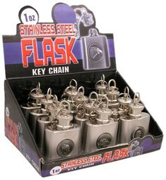 BladesUSA Wf1B Flask in Display Box Pack of 12 1Ounce *** See this great product.