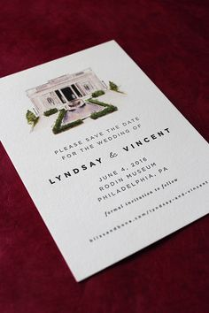 LoveLeigh Invitations // watercolor, digital + letterpress save the date.