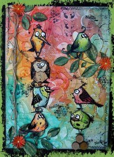 Les oiseaux de Tim Holtz